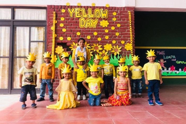 Greenwood School-Yellow Day Celebration