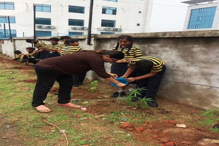 Gujarat Public School-Plantation
