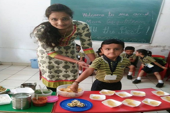 Gujarat Public School-Mom and Me competition