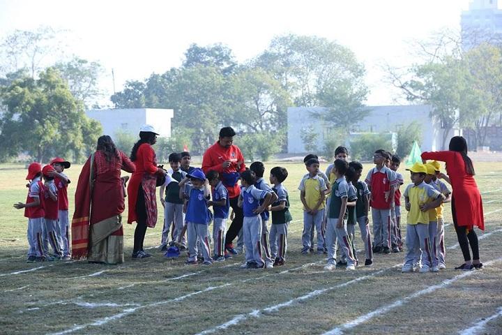 Innovative International School-Primary children games