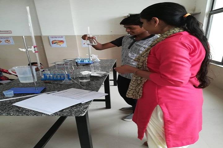 J  P MODI SCHOOL-Chemistry Lab
