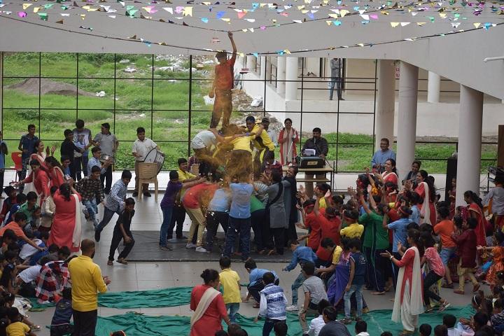 J  P MODI SCHOOL-Krishnashtami Celebrations