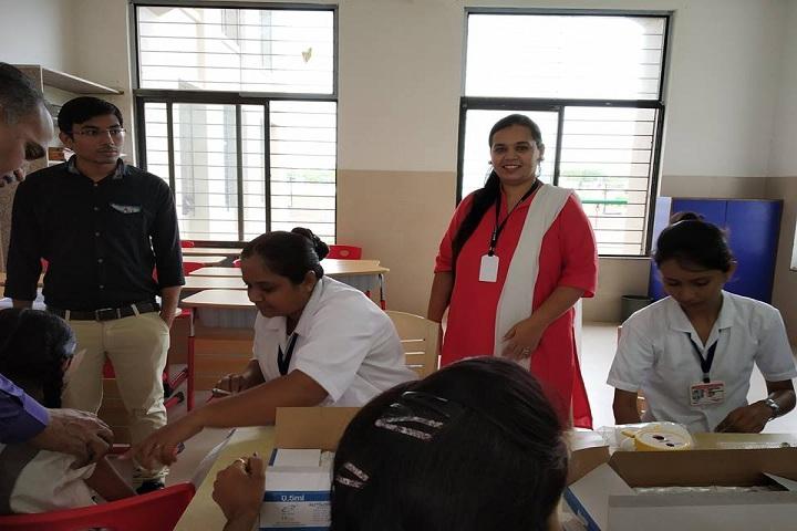 J  P MODI SCHOOL-Medical Checkup