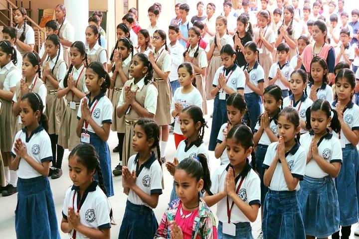 J  P MODI SCHOOL-Morning Assembly