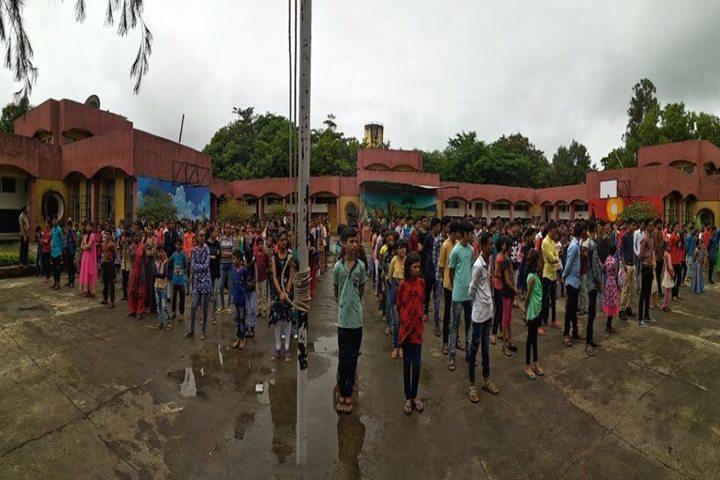 Jawahar Navodaya Vidayalaya-Morning Assembly