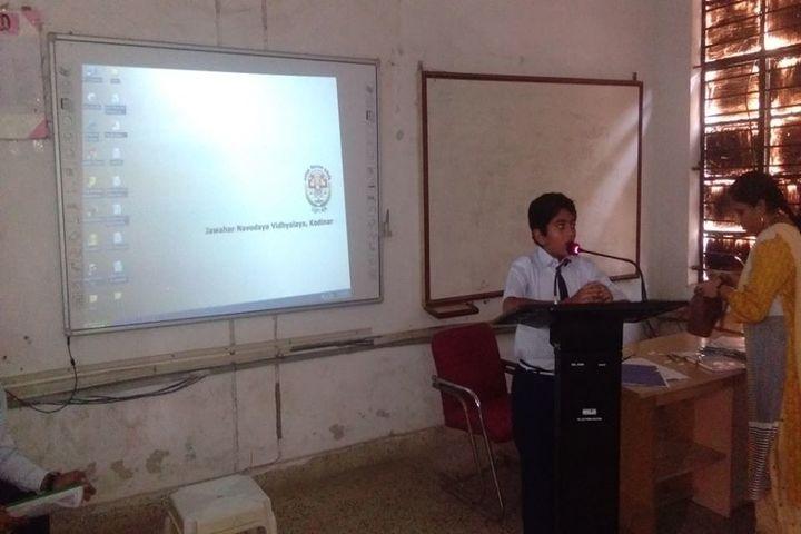 Jawahar Navodaya Vidayalaya-Smart Classes