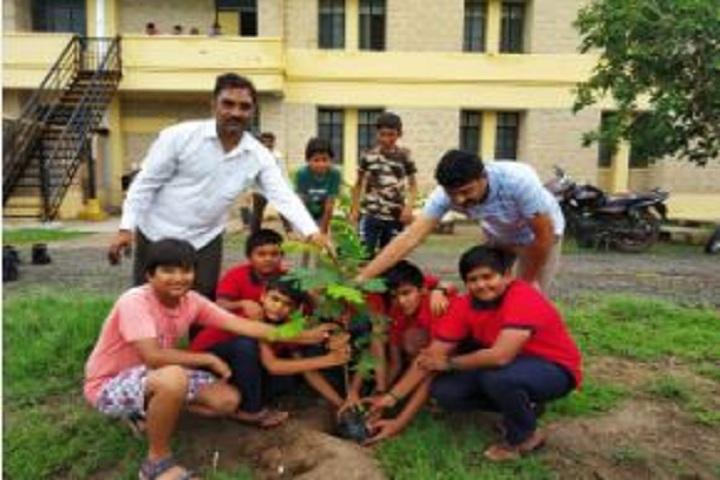 Jawahar Navodaya Vidayalaya-Tree Plantaion