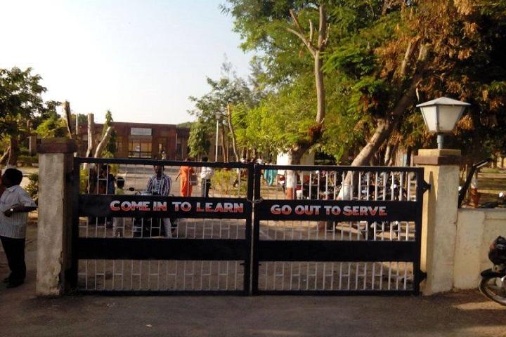 Jawahar Navodaya Vidyalya School-Campus Entrances