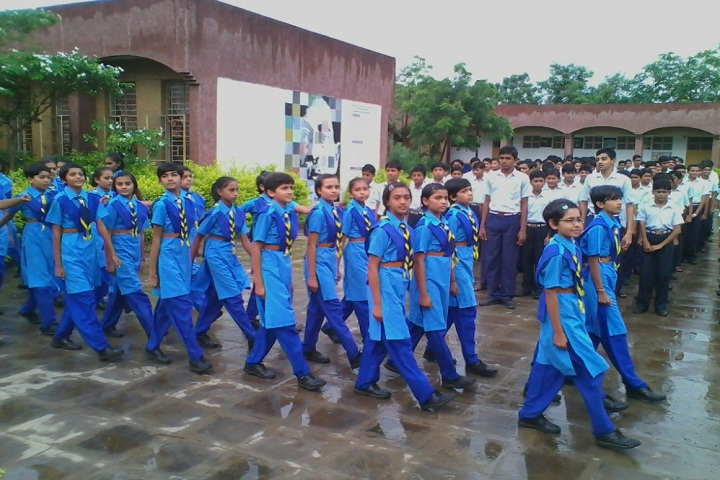 Jawahar Navodaya Vidhyalaya School-Students March past