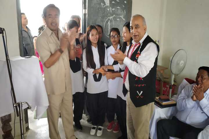 Government Higher Secondary School Longding-Inspection