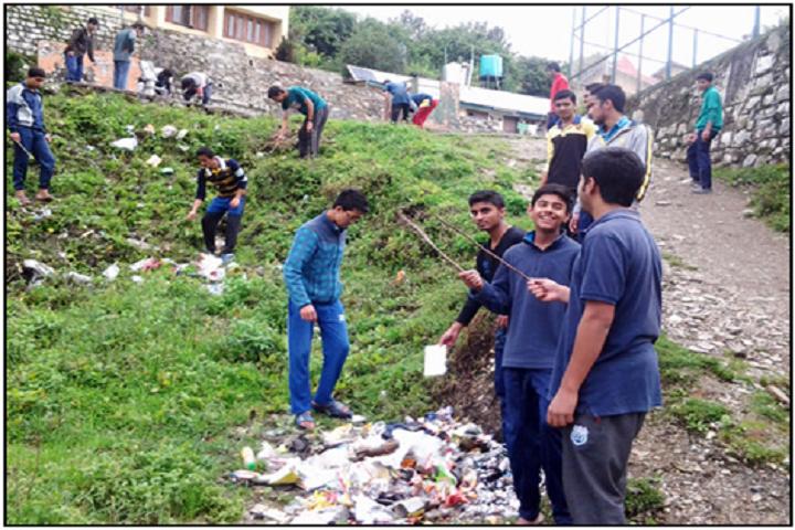Jawahar Navodaya Vidyalaya-Cleaniness Campaign