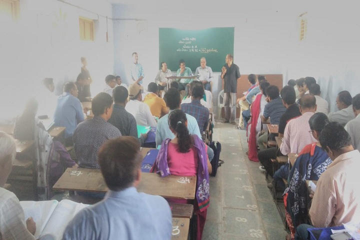 Jawahar Navodaya Vidyalaya-Staff Meeting