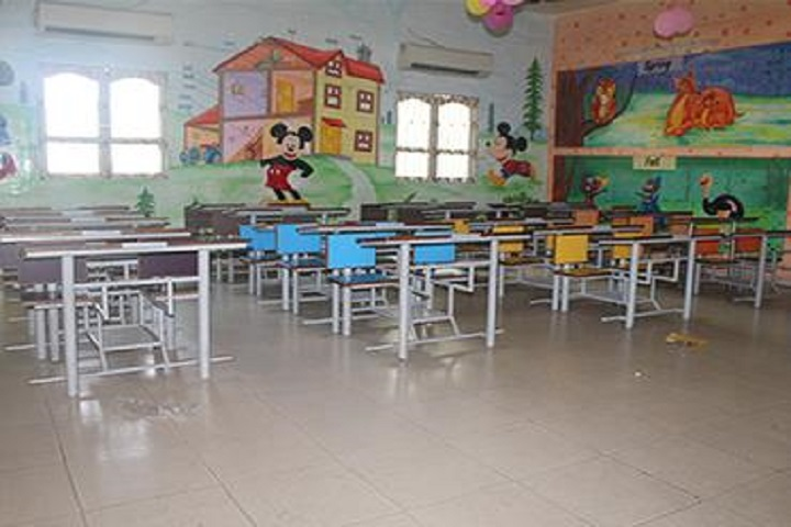 Jay Ambe International School-Class Room