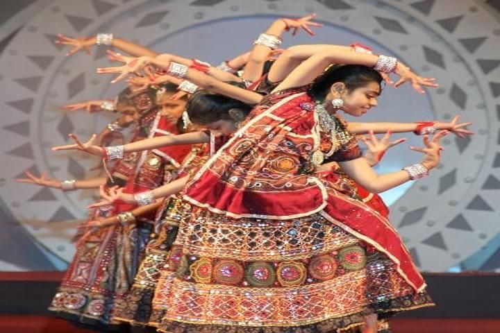 Jay Ambe International School-Dance