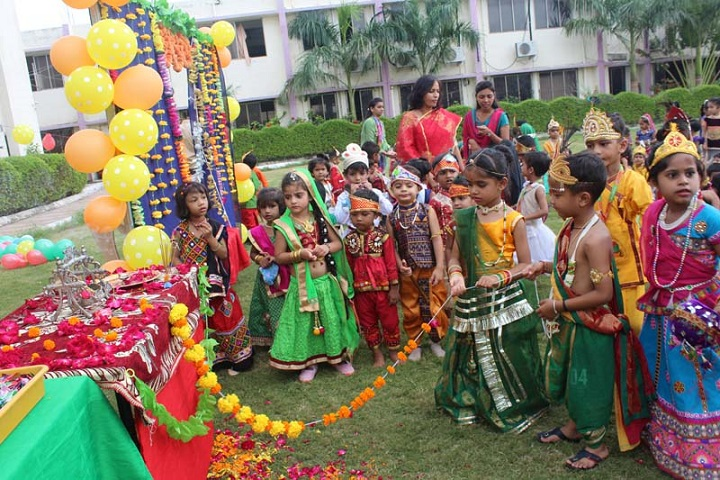 Jay Ambe International School-Festival Celebration
