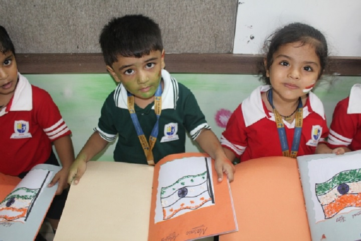 Jay Ambe International School-Painting Competition