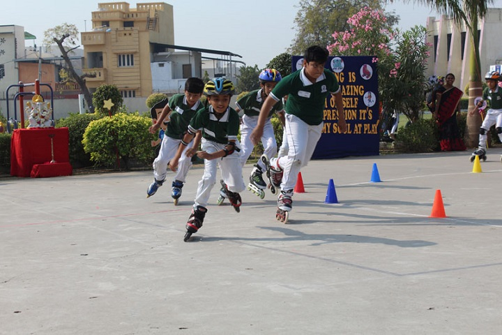 Jay Ambe International School-Skating Competition