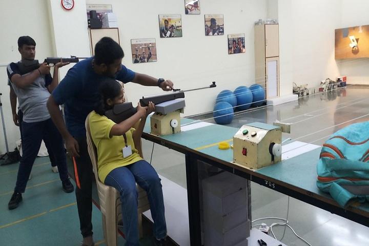 Jay International School-Archery Practice Section