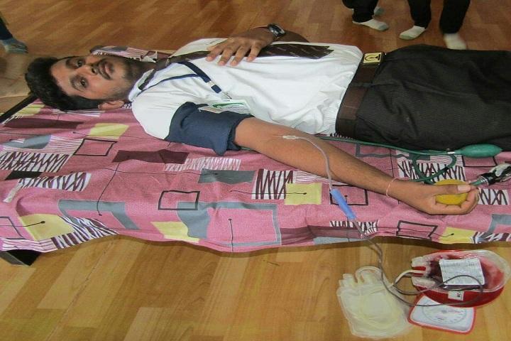 Jay International School-Blood Donation Camp