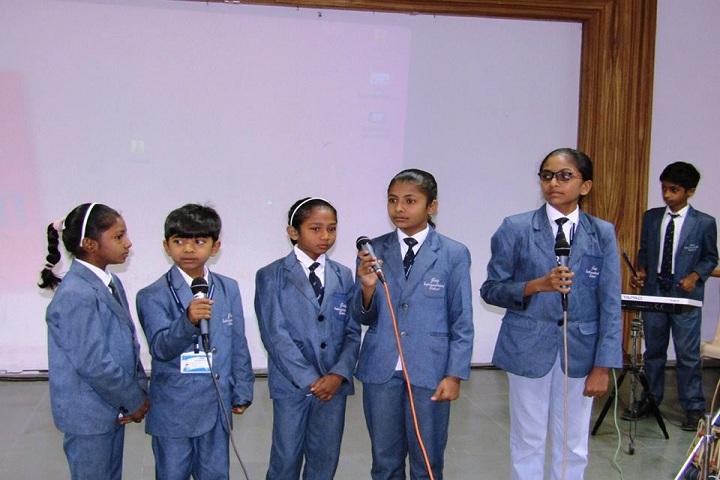 Jay International School-Singing Performance