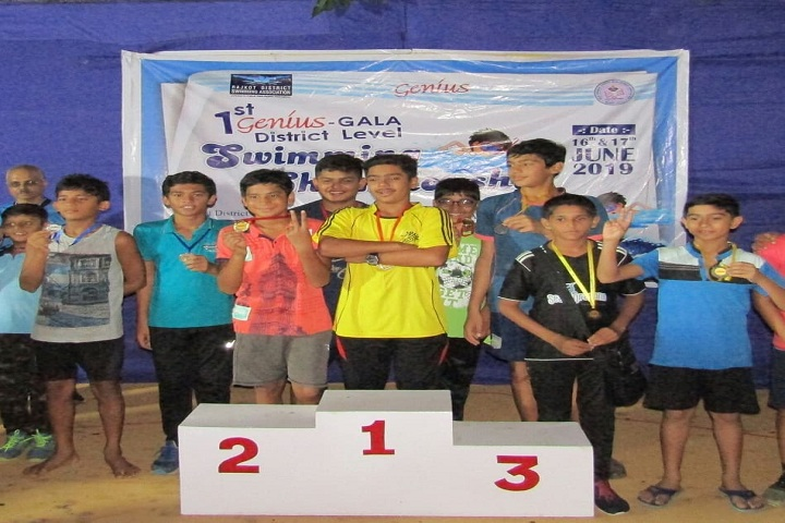 Jay International School-Swimming Champions