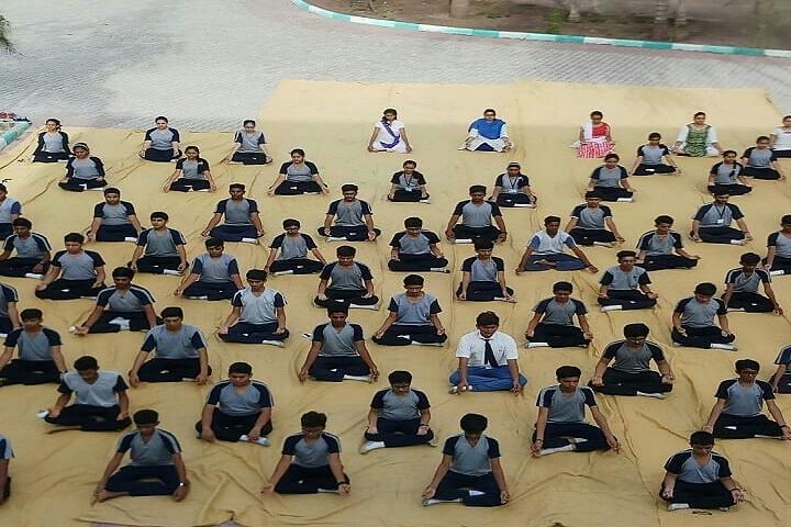 Jay International School-Yoga