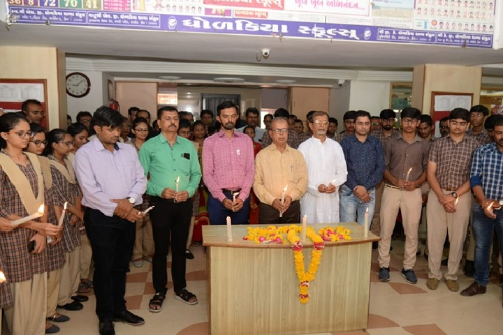 K G Dholakiya School-Candle Ceremony