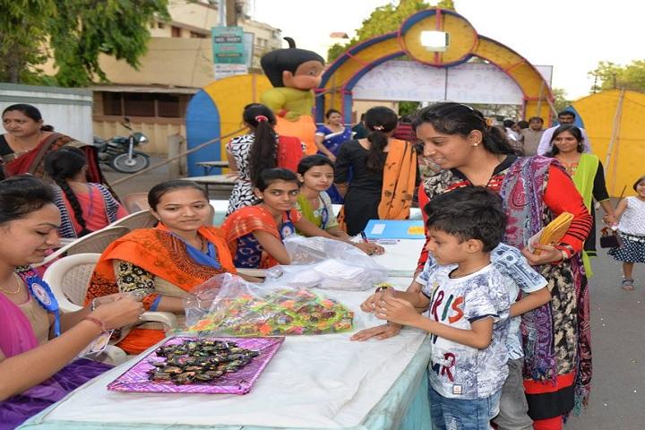 K G Dholakiya School-Chocolate Exhibition