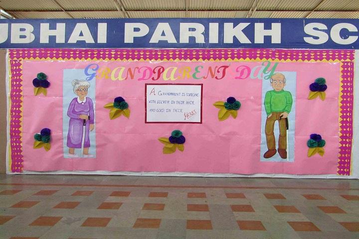 Kakubhai Parikh school-Grandparents Day Celebrations