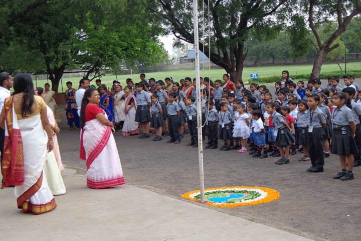 Kakubhai Parikh school-Independence Day Celebrations