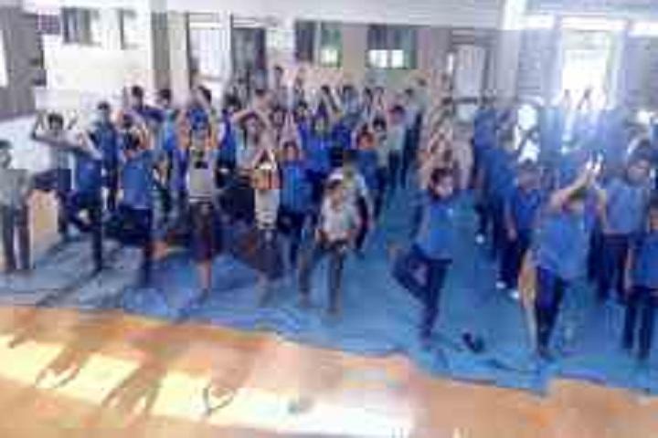 Kakubhai Parikh school-International Yoga Day Celebrations