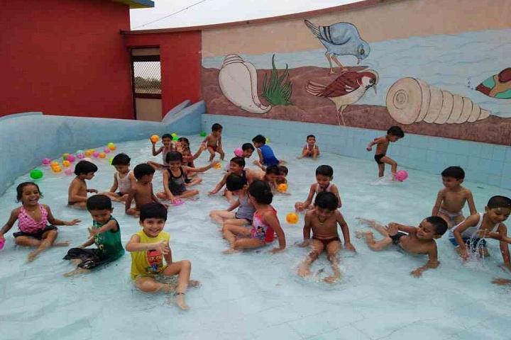 Kakubhai Parikh school-Pool Party for preprimary section