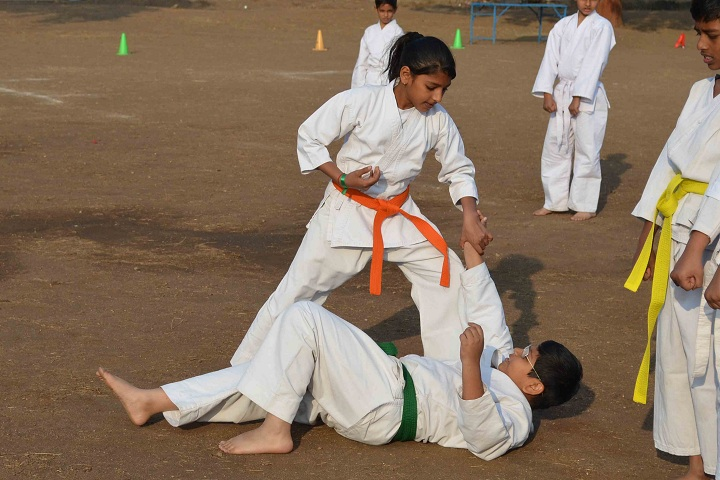 Kakubhai Parikh School-Karate Activity