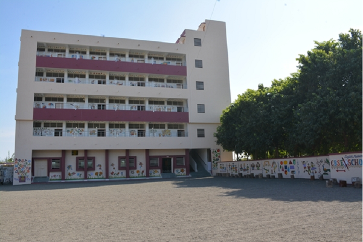 Kalawad English Medium School-Building