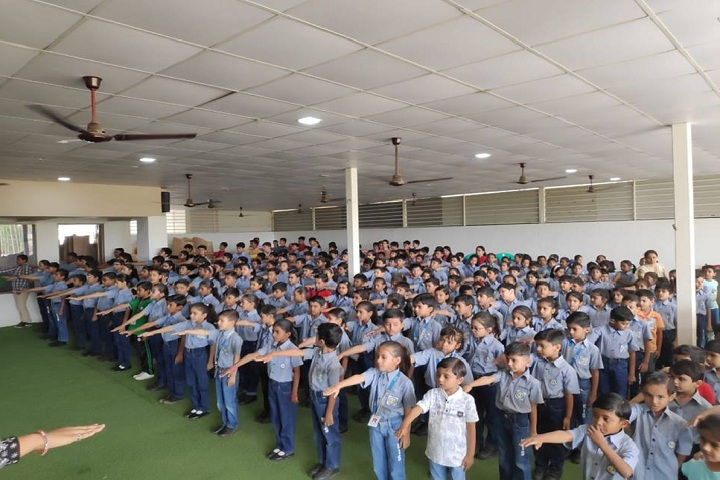 Kameshwar International School-Assembly