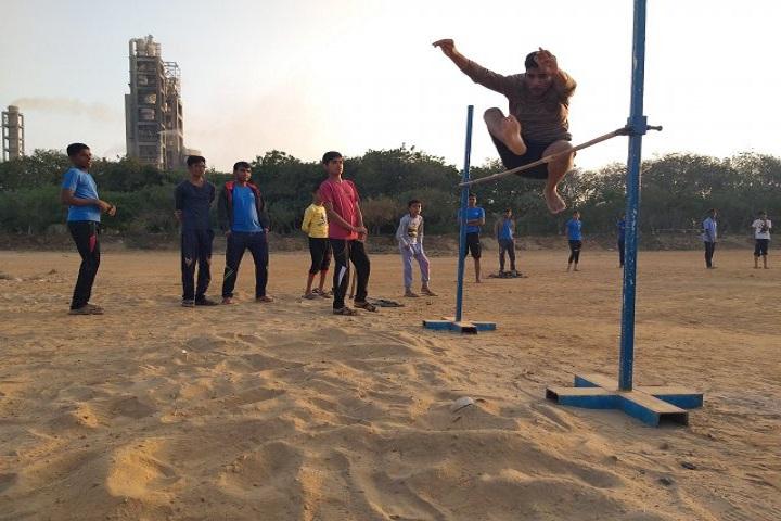 Kamala Rani Sanghi Public School-Sports