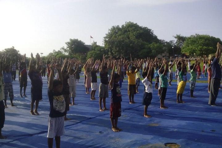 Kamala Rani Sanghi Public School-Yoga Day