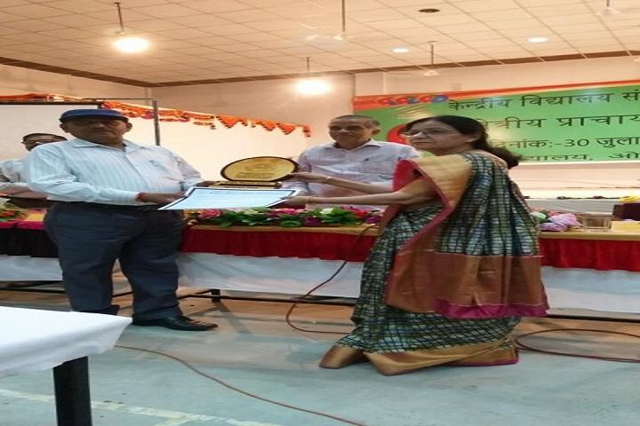 Kendriya Vidyalaya No 3-Green School Award