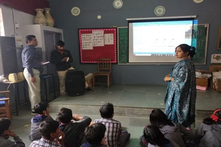 Kendriya Vidyalaya-Digital Classroom
