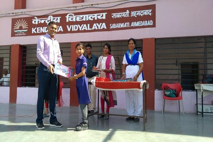 Kendriya Vidyalaya-Farewell to Teacher