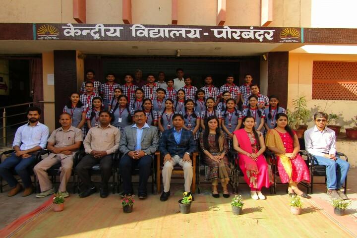 Kendriya Vidyalaya-Farewell Session