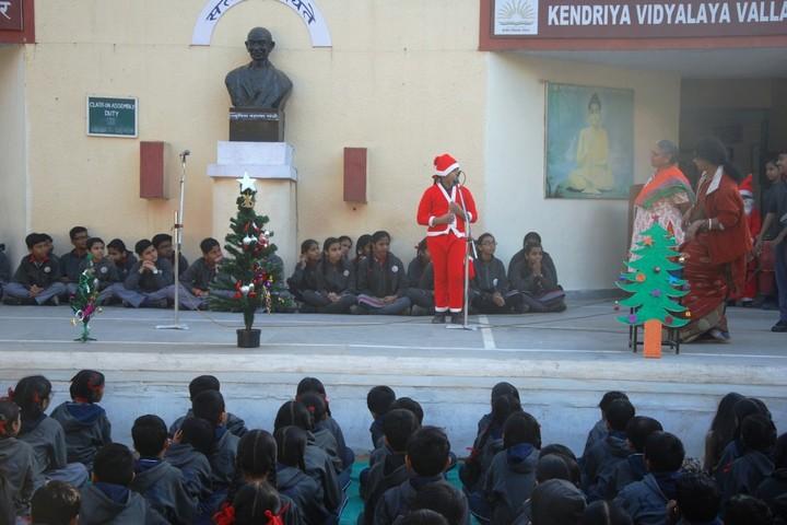 Kendriya Vidyalaya-Christmas Celebrations