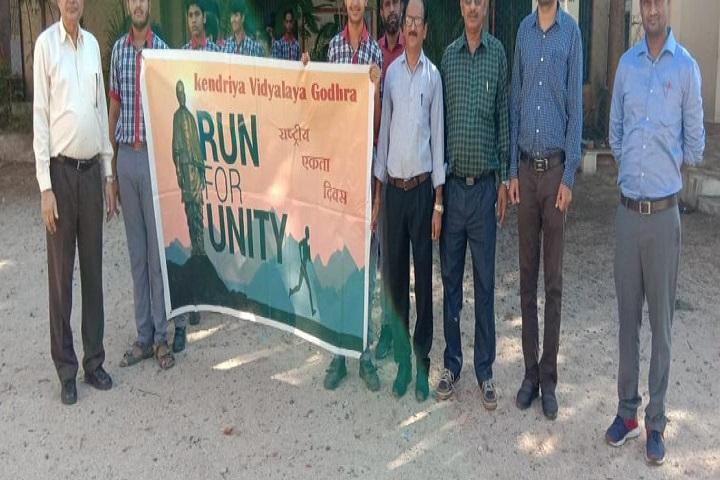 Kendriya Vidyalaya-Run For Unity