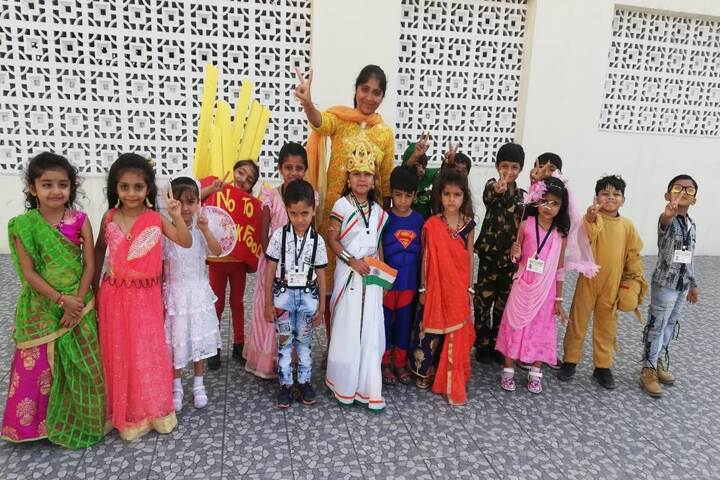 Kendriya Vidyalaya-Fency Dress