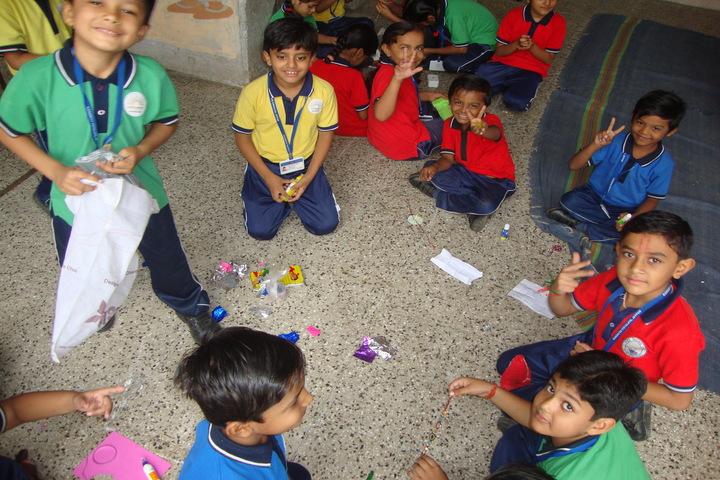 Kendriya Vidyalaya-Rakhi Making