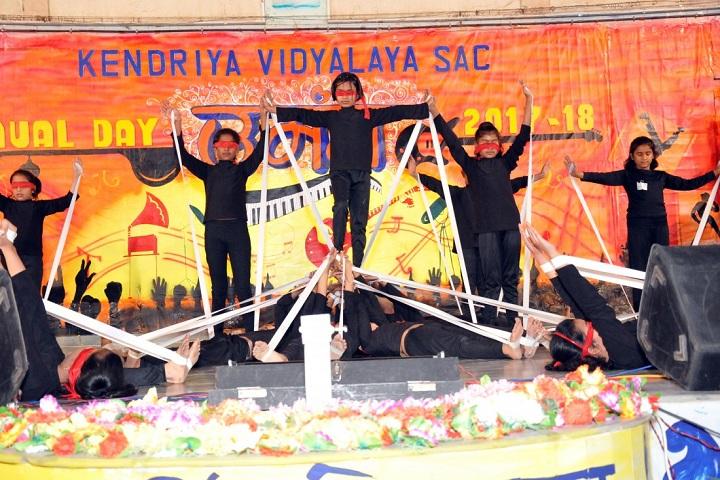 Kendriya Vidyalaya-Ariel Act Performance
