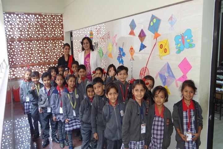 Kendriya Vidyalaya-Kite Exhibition