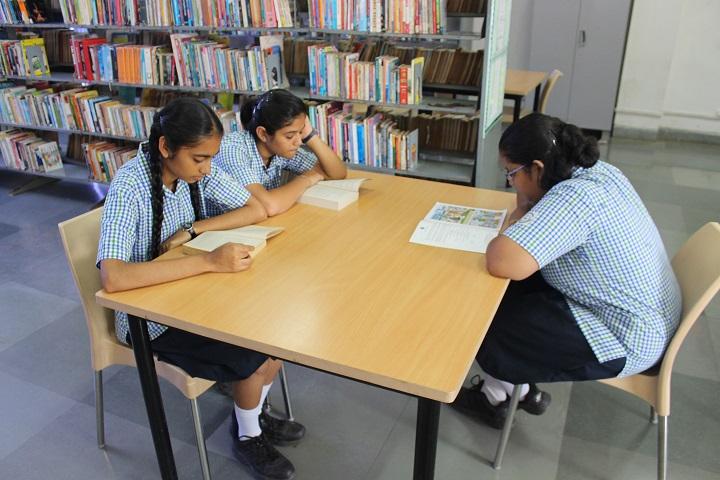 Kokilaben Dhirubhai Ambani Saraswati Vidya Mandir-Library