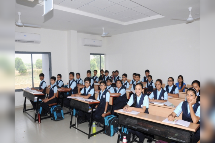 Krishna International Public School - Classroom View