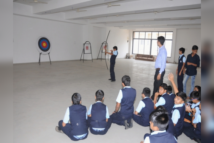 Krishna International Public School - Archery Activity
